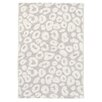 Dash & Albert Europe Spot Pearl Hand-Woven Grey Area Rug