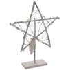 The Seasonal Aisle Star with LED Lights on Stand Sculpture