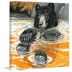 Marmont Hill Cool Bear Framed Painting Print