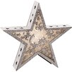 The Seasonal Aisle Wooden Star with LED Lights Sculpture