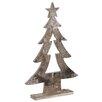 The Seasonal Aisle Wooden Xmas Tree Sculpture