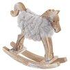 The Seasonal Aisle Woolly Rocking Horse