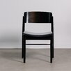 WerkStadt Riga Solid Linden Wood Upholstered Dining Chair