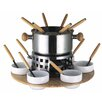 Baumalu 21 Piece Stainless Steel Fondue Set
