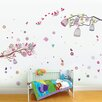 Walplus Huge Bird and Birdcage Wall Sticker