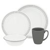 Corelle Livingware 16 Piece Dinnerware Set, Service for 4