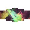 Hokku Designs 5 Piece Graphic Art Print Set