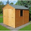 dCor design Pelugo 8 x 6 Wooden Storage Shed