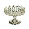 Castleton Home Center Table with Glass Cake Stand