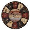 Ambiente Haus Lodge 58cm Wall Clock