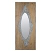 Castleton Home Wood and Metal Mirror