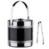 Premier Housewares Ice Bucket with Tongs