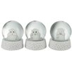 The Seasonal Aisle 3 Piece Snow Globe Set (Set of 3)