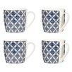 Wildon Home Flower Mugs (Set of 4)