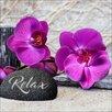 Pro-Art Purple Orchid I Photographic Print on Canvas