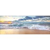 Pro-Art Waves I Rectangular Photographic Print on Canvas