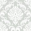 NuWallpaper Ariel 5.5m L x 52cm W Damask Roll Wallpaper