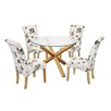 LPD Oporto Freya Dining Table and 4 Chairs