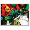 Artist Lane 'Singing Poppies' by Shani Alexander Framed Art Print on Wrapped Canvas