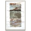 Artist Lane 'Paper Screen 8' by Gill Cohn Framed Art Print on Wrapped Canvas