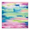 Artist Lane 'Summer Swish' by Josie Nobile Art Print on Wrapped Canvas