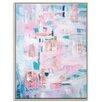 Artist Lane 'Jaipur' by Brenda Meynell Framed Art Print on Wrapped Canvas