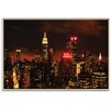 Artist Lane 'Digital Sunset' by Andrew Paranavitana Framed Photographic Print on Wrapped Canvas
