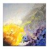 Artist Lane 'Spring Rain II' by Jennifer Webb Art Print on Wrapped Canvas