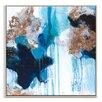 Artist Lane 'Mojo Risen 2' by Julie Ahmad Framed Art Print on Wrapped Canvas
