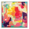 Artist Lane 'Utopia' by Amira Rahim Framed Art Print on Wrapped Canvas