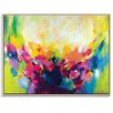 Artist Lane 'Rebirth' by Amira Rahim Framed Art Print on Wrapped Canvas