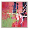 Artist Lane 'Provencial Sunset' by Catherine Fitzgerald Art Print Wrapped on Canvas
