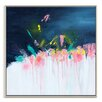 Artist Lane 'Coral' by Gary Butcher Framed Art Print on Wrapped Canvas
