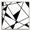 Artist Lane 'Geometric 9' by Chalie MacRae Framed Graphic Art on Wrapped Canvas