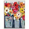 Artist Lane 'Market Day' by Anna Blatman Framed Art Print on Wrapped Canvas