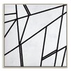 Artist Lane 'Geometric 7' by Chalie MacRae Graphic Art Wrapped on Canvas