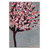 Artist Lane 'Blossom Tree' by Anna Blatman Art Print Wrapped on Canvas