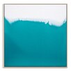 Artist Lane 'Flow 7' by Chalie MacRae Art Print Wrapped on Canvas