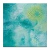 Artist Lane 'Ocean Spin' by Josie Nobile Art Print on Wrapped Canvas