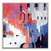 Artist Lane 'Stairs to Happiness' by Catherine Fitzgerald Art Print Wrapped on Canvas
