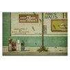 Artist Lane 'Diner Rules' by Andrew Paranavitana Photographic Print Wrapped on Canvas