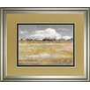 Classy Art Wholesalers 'Meadow Shimmer II' by Nan Framed Painting Print