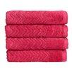 Christy Cheveron Hand Towel