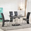 Trends Interiors Ravenna Extendable Dining Set with 4 Chairs