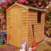 dCor design 6 x 4 Wooden Storage Shed