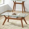 Homestead Living Coffee Table with Magazine Rack