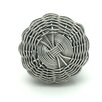 G Decor Metal Willow Knob (Set of 2)
