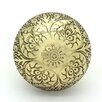 G Decor Mughal Mushroom Knob (Set of 2)