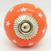 G Decor Stars Mushroom Knob (Set of 2)