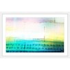 Parvez Taj 'Beach Light' by Parvez Taj Framed Painting Print